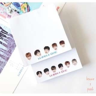 Wanna One Notepad Set