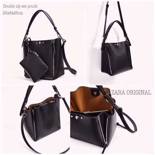 Zara Double Zipper