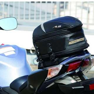 Rough and Road Sport Touring Street and Cruiser Motorcycle Rigid Tail Storage Bag