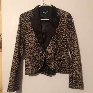 Dangerfield leopard print blazer