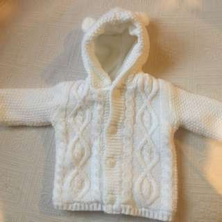 George UK Baby Girl Coat/ Cardigan Jacket 0-3m