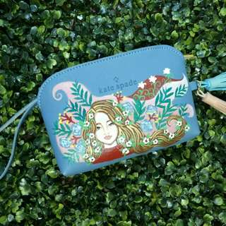 Hand Painted Pouch