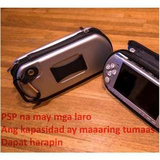 PSP 3007 pula (opsyonal na kapasidad at laro)