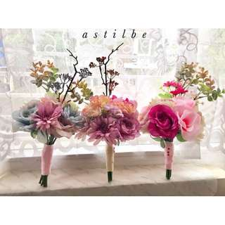 Ready wedding hand bouquets