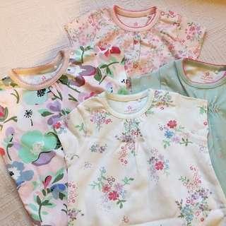 NEXT Baju Baby Girl Bundle Romper 0-3m