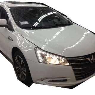 2014 LUXGEN S5 1.8 白色