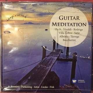 Guitar Meditations - classical music cd