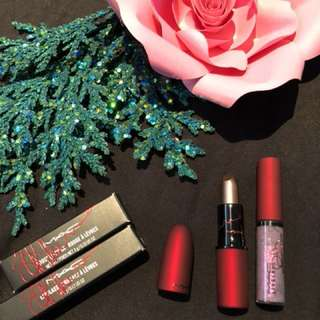 Mac viva glam 2 Rihanna lipstick and gloss