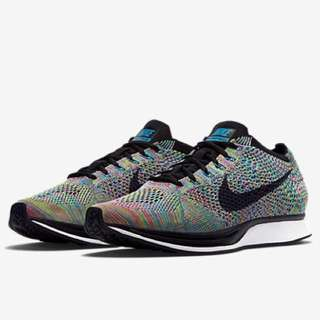 NIB Nike Flyknit Racer Multicolor 2.0 Men's US 9.5