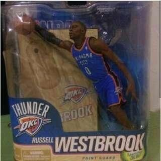 收 各代 麥法蘭 NBA 公仔 盒裝 未拆封