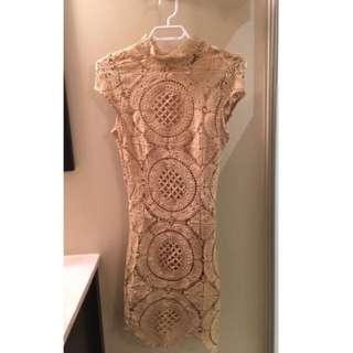 Mendocino beige dress