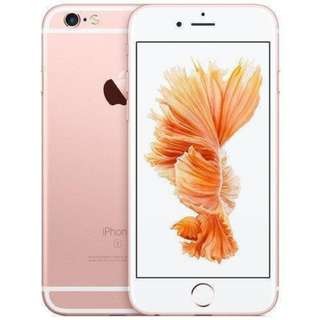 AS NEW iPHONE 6S 64GB ROSE GOLD iPHONE WITH ALL ACCESSORIES (BRAND NEW!)