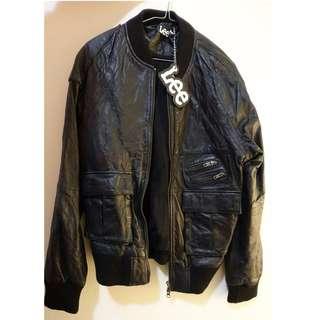 LEE Leather Jacket S Ksubi Genuine