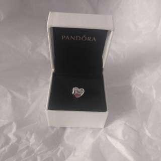 BNIB pandora silver charm