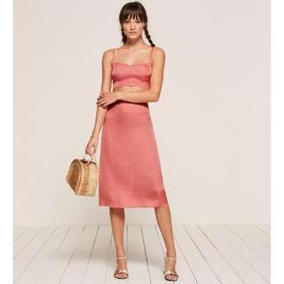 REFORMATION - BNWT Nova two-piece in pink