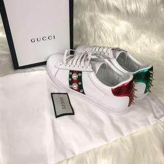 Gucci Stud Pearl Ace
