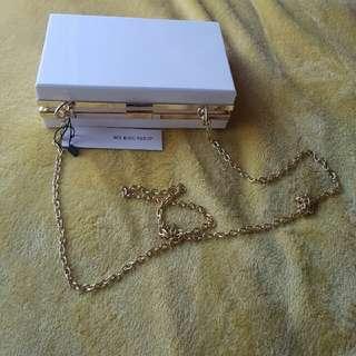 My bag shop box clutch