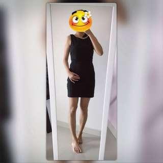 💟 S Size Kitschen Black Dinner Dress~