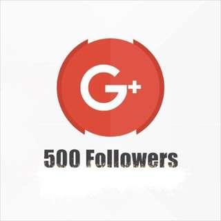 Google Plus (Followers) & (Likes)