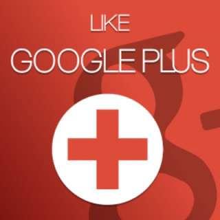 Google Plus (Likes) & (Reshares)
