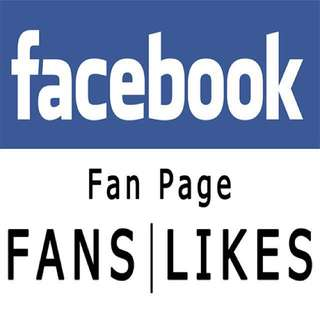 Facebook Fan Pages (Likes)