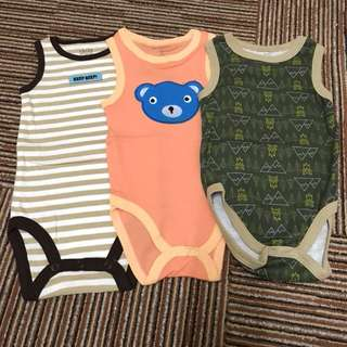 Carter's Romper Set of 3pcs