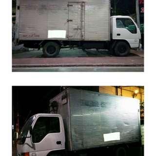 Closed Van Truck for Rent