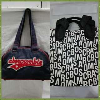 Auth Abercrombie & Marc Jacobs bag