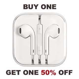 50% OFF! iPhone Earpods / Earphones / Earpiece for Apple