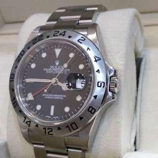 Rolex 16570 Explorer II Year 2004