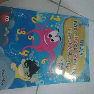 Buku Belajar Baca Tulis