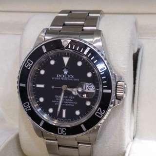 Vintage Rolex Submariner 16800
