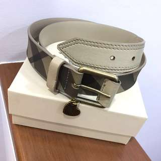Burberry Belt Authentic for Women