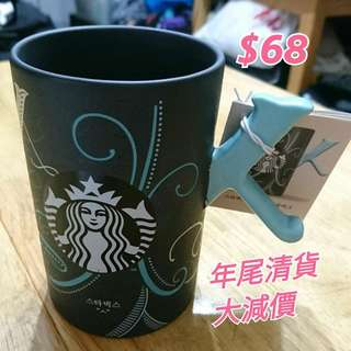 韓國 STARBUCKS 韓字 咖啡杯