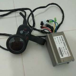 Display Throttle And 36v controller
