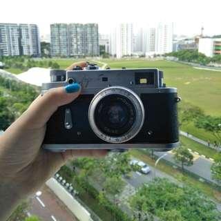 Zorki 4 film camera