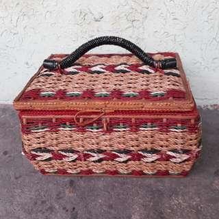 Small Rattan Box