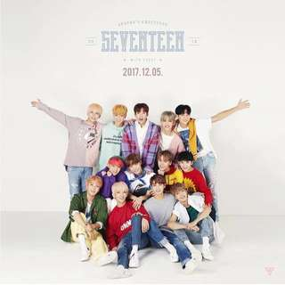 [LOOSE ITEM] Seventeen Season Greeting 2018