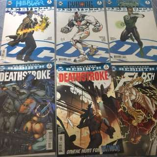 Dc Rebirth number 1s single issues