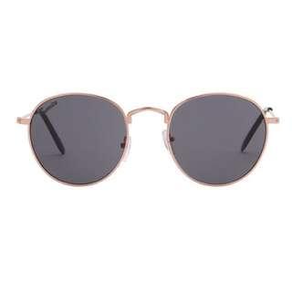 Sunnies Studios Winona Sunglasses-Goldsmoke