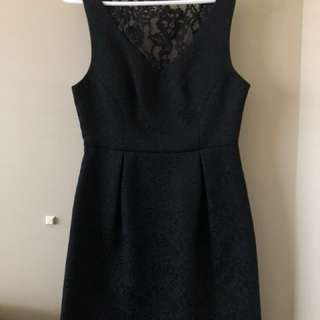 Forever New Black Mini Dress, Size 8