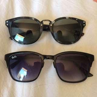 Sunglasses NIKE & Ray Bans