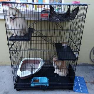 Pet Cage 3layer