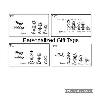 Personalized Gift Tags for All Occassions
