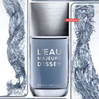 Issey Miyake L'Eau Majeure 100ml Edt Tester