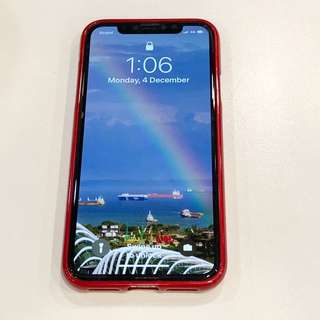 iphoneX case protector in red