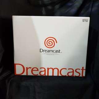 Nos Sega Dreamcast game console japan set
