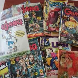 Various Rare 90's Comics