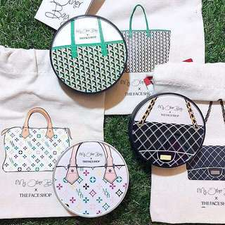BN THEFACESHOP x My Other Bag CC Cushion SPF50+ PA+++ (Limited Edition)