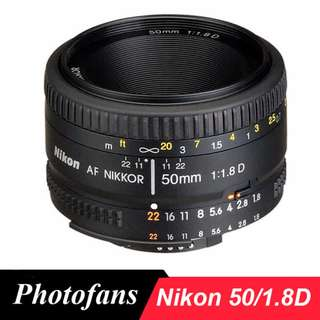 lens nikon 50mm
